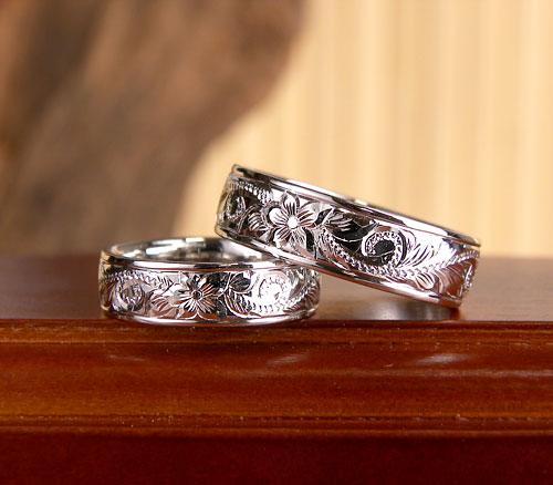 ハワイアン結婚指輪