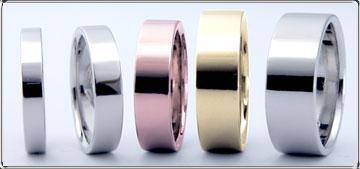 ハワイアン結婚指輪の素材