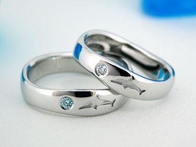 イルカの結婚指輪