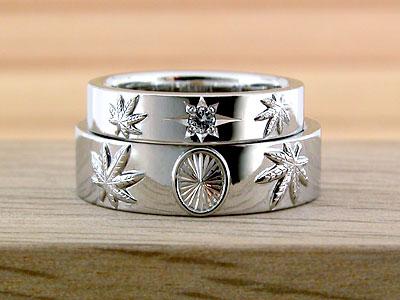レゲエチックな結婚指輪