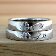クローバー結婚指輪