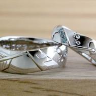 彼女のハートを射抜いた結婚指輪