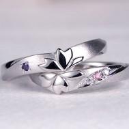 嵐の中のサクラの結婚指輪