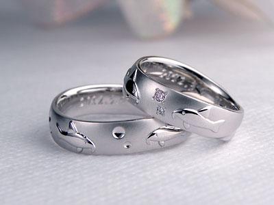 コリドラス結婚指輪