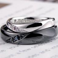 社交ダンスがテーマの結婚指輪