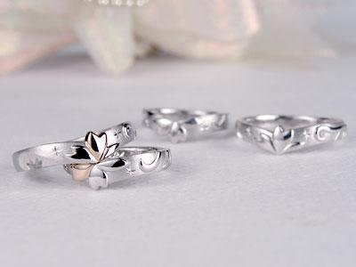 シルバーサンプル結婚指輪