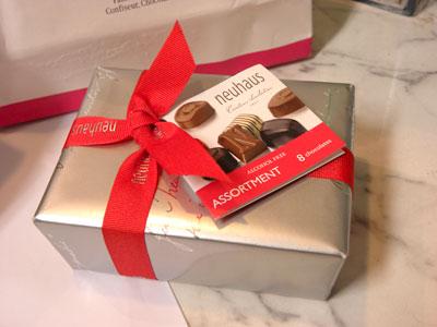 ニューヨークのチョコレート
