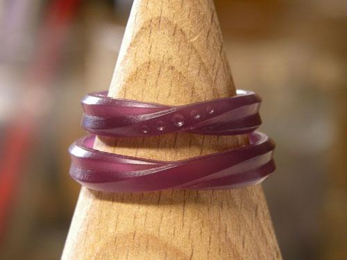 オーダーメイド結婚指輪のワックス原型
