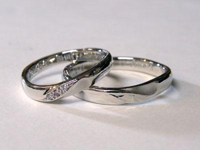 サイズ直しが出来上がった結婚指輪