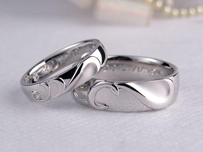CとDの結婚指輪