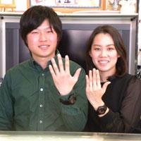 結婚指輪オーダー坂東様