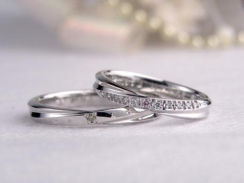 インフィニティ結婚指輪アレンジ