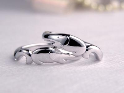 ゾウの結婚指輪