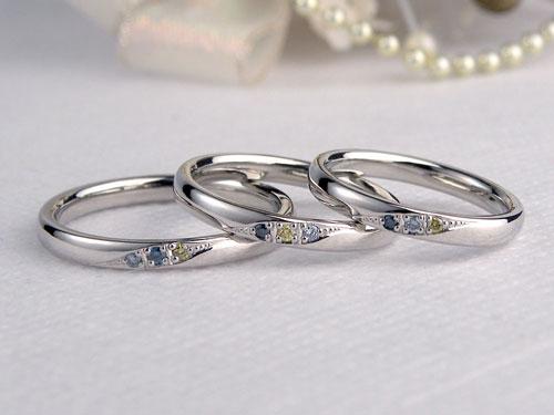 親子で付ける指輪
